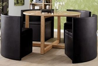 explore round hideaway hideaway dining and more home dining sets space