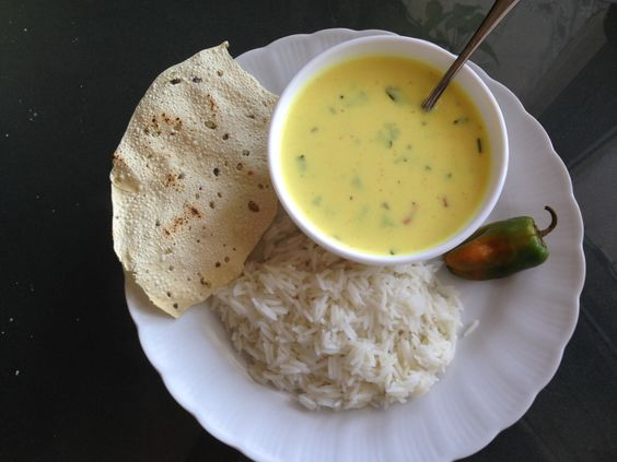 Kadhi/Yoghurt Soup