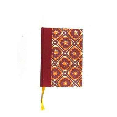 Tageskalender 2016 rot gelb Batik #Kalender #Tageskalender #nauli