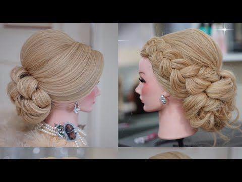Amazing Hairstylist Thailand Youtube Frisur Hochgesteckt Hochsteckfrisur Frisuren