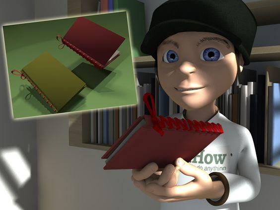 How to Make a Homemade Book -- via wikiHow.com