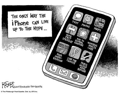 Funny Picture about Iphone