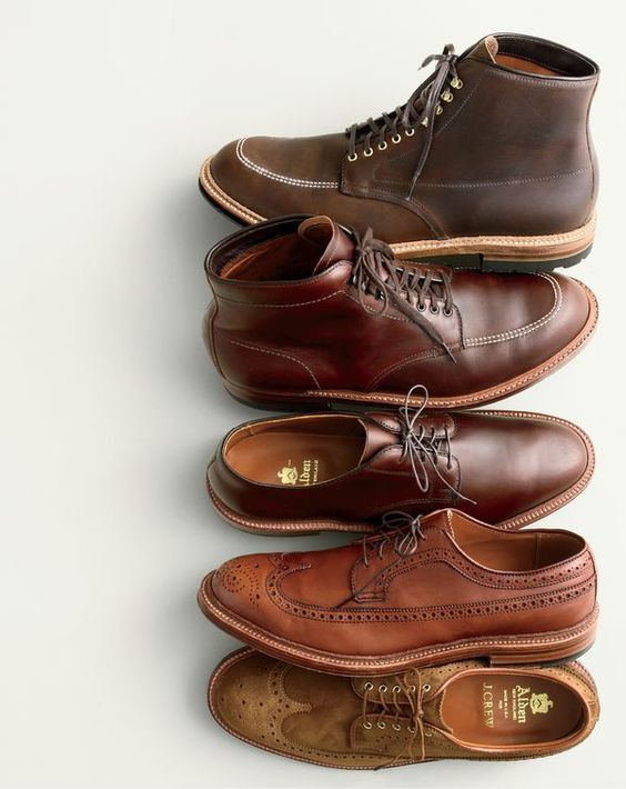 In good company. Alden® for J.Crew. Each season, we team up with New England's oldest family-owned footwear company (est.1884) to create exclusive versions of its famous handmade boots and shoes.