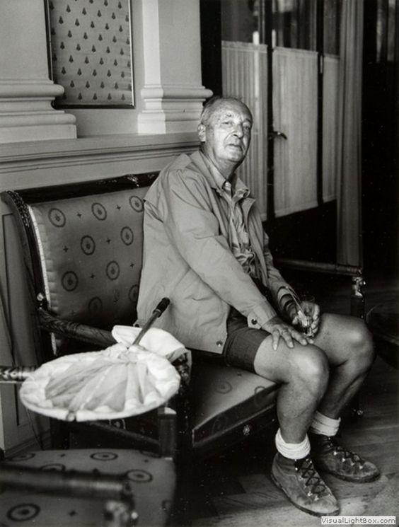 Vladimir Nabokov. Switzerland, 1960-1970's.: