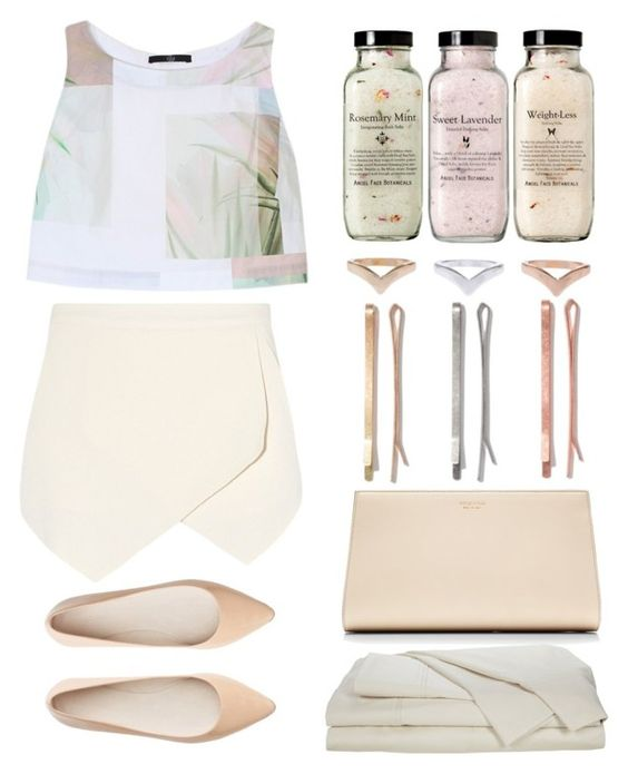 """""""relax"""" by monikakarpisiak ❤ liked on Polyvore featuring TIBI, Madewell, Sergio Rossi and Witchery"""