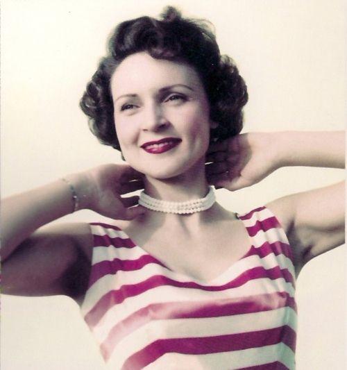 Betty White, c.1950's.- ❤her!