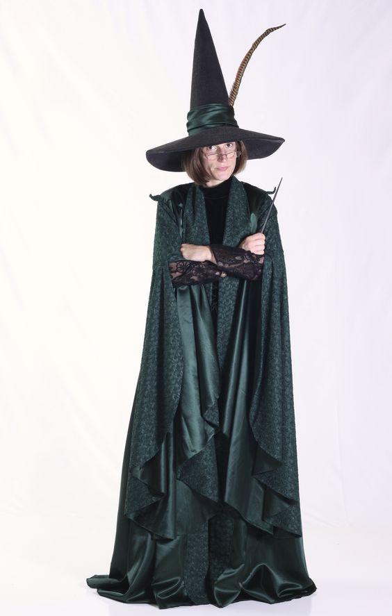 Custom Minerva Mcgonagall Costume Harry Potter Family Costume Harry Potter Costume Harry Potter Robes