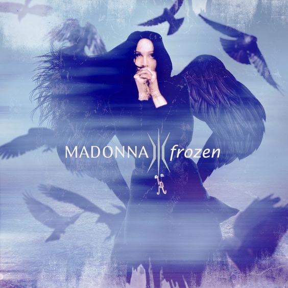 Madonna – Frozen (single cover art)