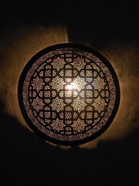 artisanat maroc appliques murales appliques luminaire marocaines en m tal light fittings. Black Bedroom Furniture Sets. Home Design Ideas
