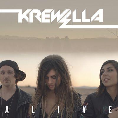 Krewella – Alive (single cover art)