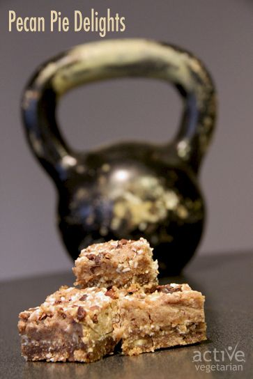Pecan Pie Delights-Raw Vegan www.activevegetarian.com
