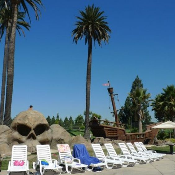 Commercial Resin Chaise Lounge Chairs At Splash @ La Mirada Aquatics Center  In La Mirada,
