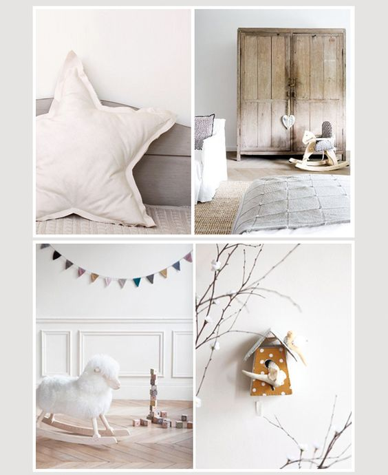 Chittypulga: Modern Trends for Little Kids: Trendy Nursery: A Magical Room in Neutral Colors for the New Baby
