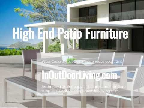 Zuo Modern Contemporary High End Patio Furniture Set Patio