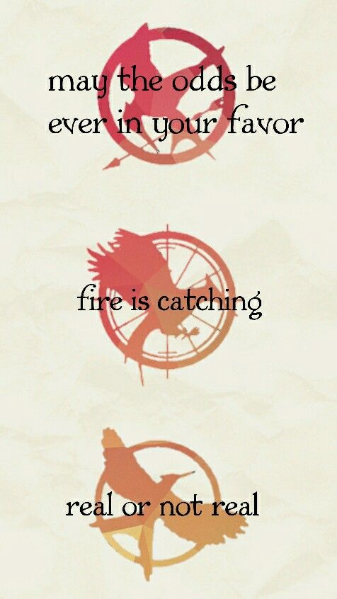Hunger Game Quotes New The Hunger Games Catching Fire Mockingjay Hunger Games