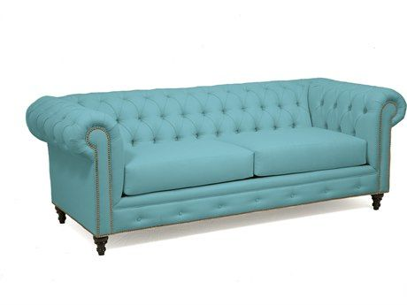 Loni M Designs Megan Teal Sofa