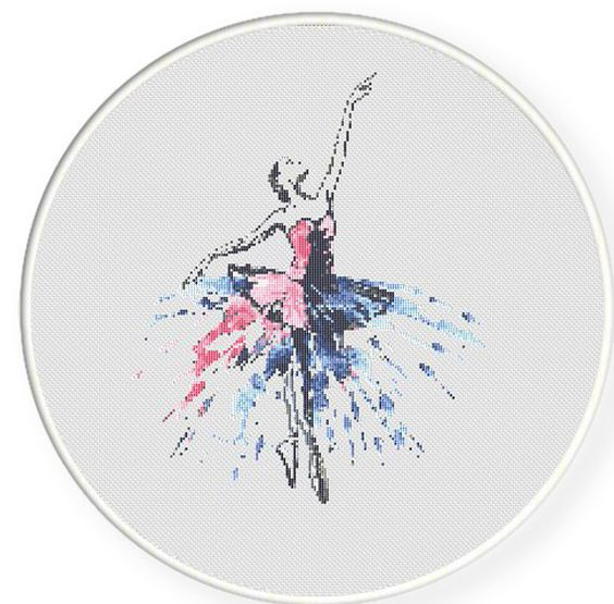 Ballet Dance Cross stitch pattern PDF by CrossStitchPassions