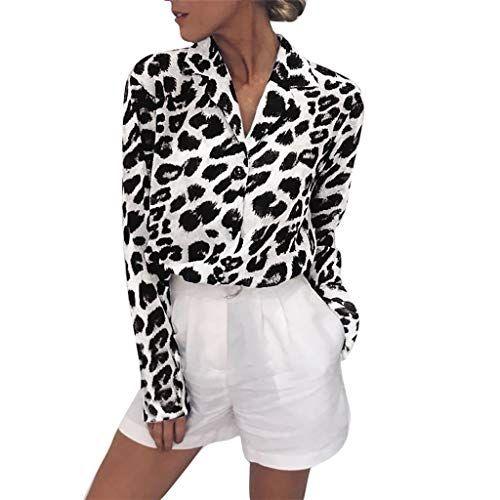 Wolfleague Chemise Femme Manches Longues Col V Blouse Casual Tops Chic Tee Shirt Loose Tunique Classique Sweats Ample Chemisier Grande Taille Fluide Blouse