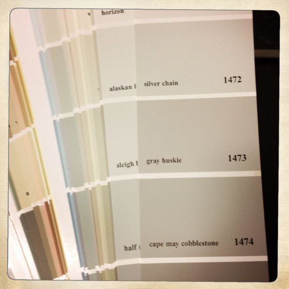 Gray Huskie 1473 Cape May Cobblestone Paint Swatch Pinterest Capes Paint And Gray
