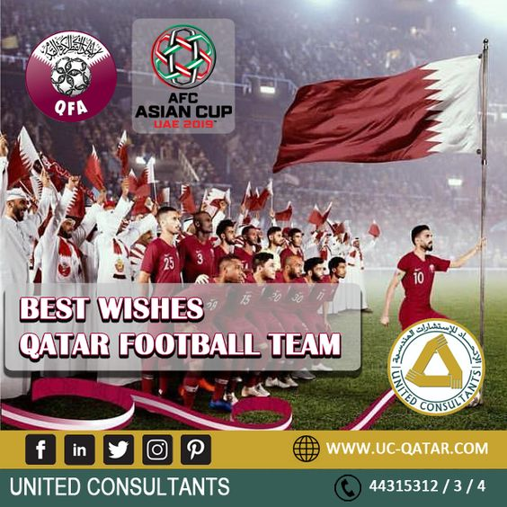 Wishing The Qatar Football Team Qatar Football Afc Asian Cup Football Team