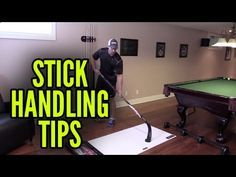 How To Get Better at Stickhandling in Hockey - http://hockeyvideocenter.com/how-to-get-better-at-stickhandling-in-hockey/