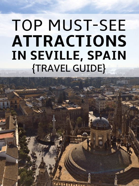 Top Attractions in Seville Spain, Travel Guide   Metropol Parasol, Plaza de España, Cathedral of Seville and more! The Must-See's of Sevilla!