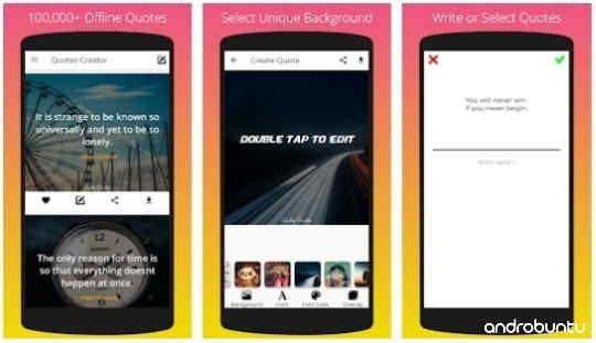 10 Aplikasi Pembuat Quotes Terbaik Untuk Android Terbaru Gratis Aplikasi Teknologi