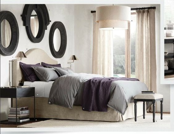 restoration hardware small bedroom - Google Search