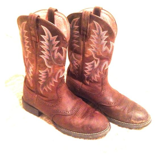 Ariat Boots A little used (that's why the price is so great!) but ...
