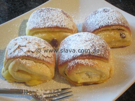 """Megasofte Vanille-Quarkröllchen   kochen & backen leicht gemacht mit Schritt für Schritt Bilder und """"schmeckt-lecker-geling-Garantie"""" von & mit Slava   Bloglovin'"""