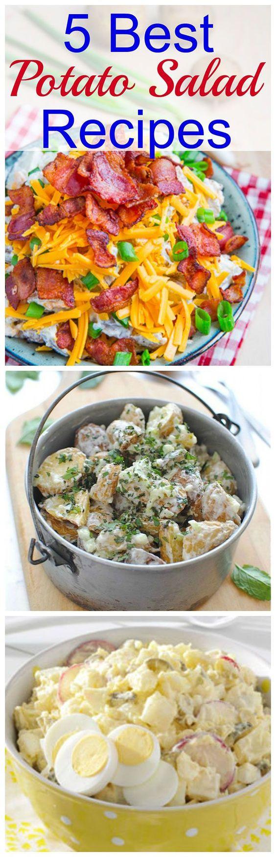 Potato Salads For Summer | Best Potato Salad Recipe, Potato Salad ...