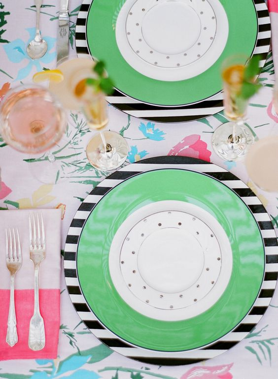 Kate Spade Garden Party: Kate Spade Table Setting, Table Settings, Party Katespade, Garden Party, Place Setting, Kate Spade Party Ideas, Garden Parties, Party Table