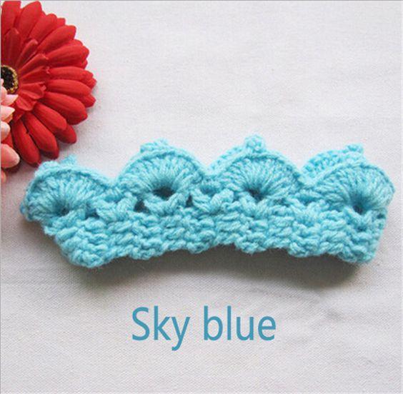 Newborn Crochet Royalty Headband