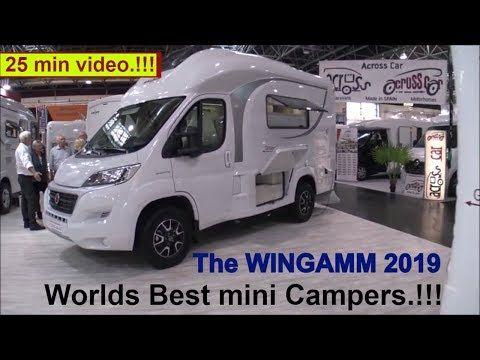 The Wingamm 2019 Worlds Best Mini Campers Youtube Mini Camper Mini Motorhome Camper