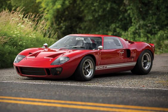 One of only 31 built for the street and only seven sent to Shelby American for retail, this 1966 Ford GT40 is a stunning example of the mid-century racer. The car was used as a daily driver early in its...