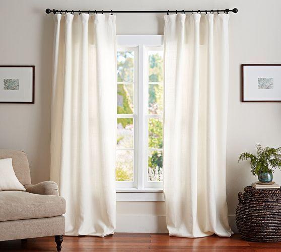 17 Unbelievable Coastal Decor Seaside Ideas Linen Curtains Custom Drapes Pottery Barn Curtains