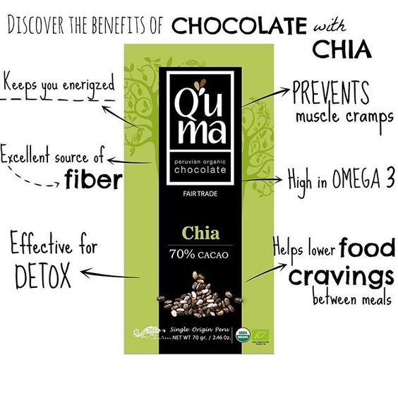Good Morning !!! Happy Thursday!!! *****DISCOVER THE BENEFITS OF CHOCOLATE WITH CHIA***** #sweetorganic #madeinPeru #healthychoices #organicchocolate #certified #fairtrade #chia #goldenberries #DarkCacaoNibs #DarkMarassalt #quinua #darkchocolate