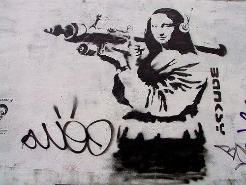 Banksy - Mona Lisa