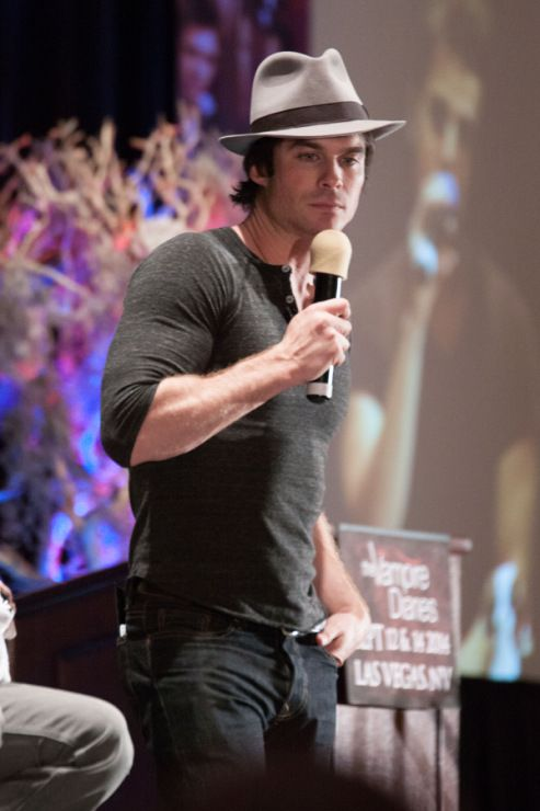 Ian Somerhalder - The Vampire Diaries Official Convention - Las Vegas, NV / September 13, 2014