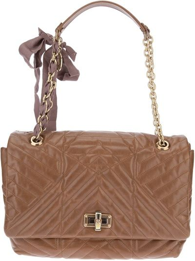 LANVIN Happy Quilted Tote