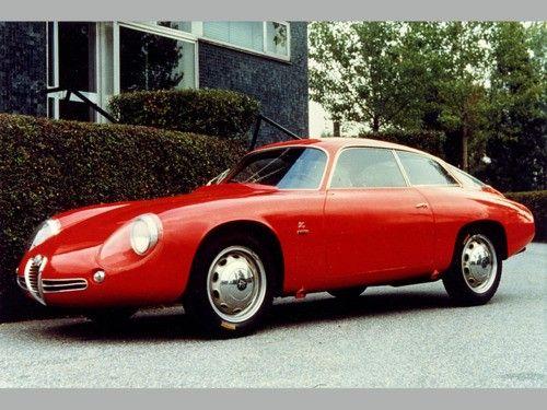 1961 Alfa Romeo Giulietta SZ Codatronca