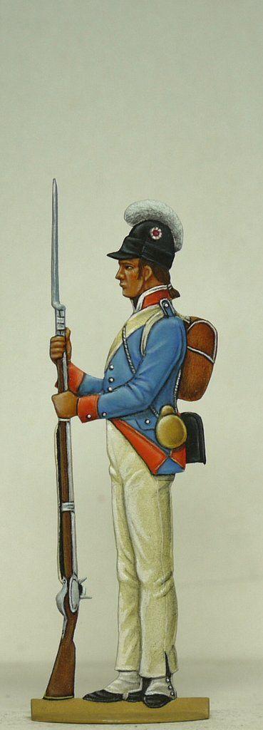 Line infantry, half Brigade – Glorious Empires: