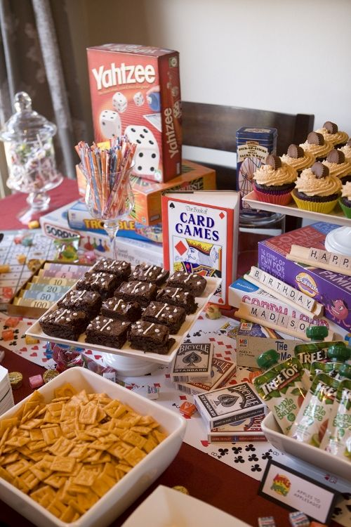 Game Night Ideas For A Birthday Party With Images Game Night