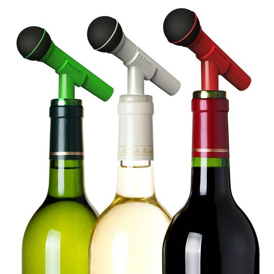 Dynamike Bottle Cap... This novelty wine stopper will keep your drinks fresh and your spirits high as you try and resist belting out your favourite karaoke number. by The Gift Oasis