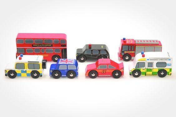 London Car Set by Le Toy Van