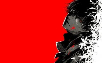 Pin On Tokyo Ghoul Dark red and black anime wallpaper