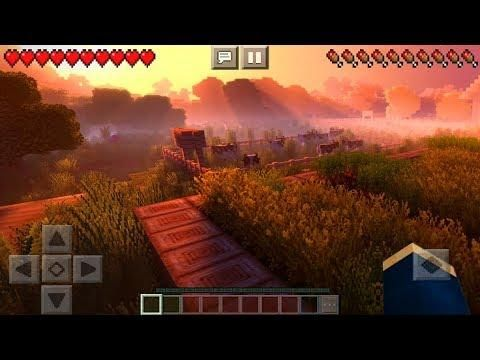 Best Minecraft Texture Packs 2020.Mcpe 1 6 Best Shaders Minecraft Pe Ultimate Ultra