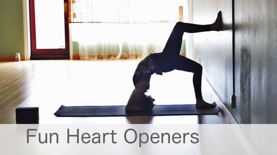 Free Yoga Class Fun Heart Opening To Lift Your Mood: Yoga with Lesley Fightmaster