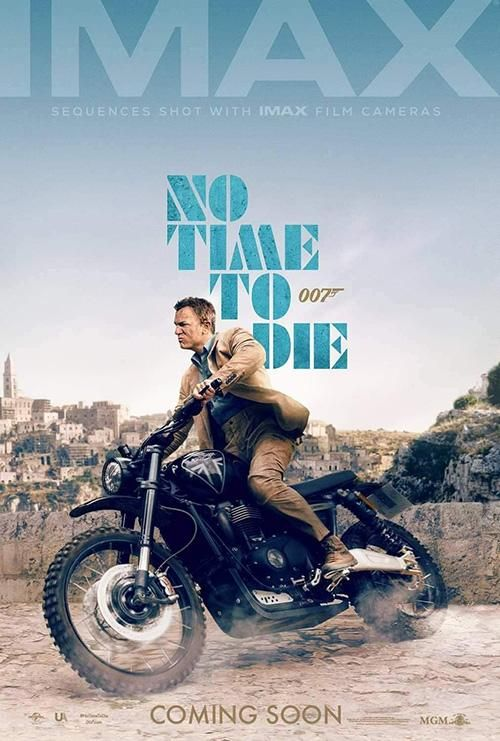 No Time To Die In 2021 James Bond Movie Posters James Bond Movies James Bond