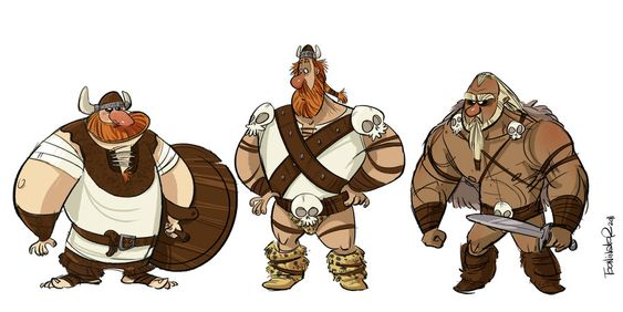 Vikings by the-Tooninator on deviantART